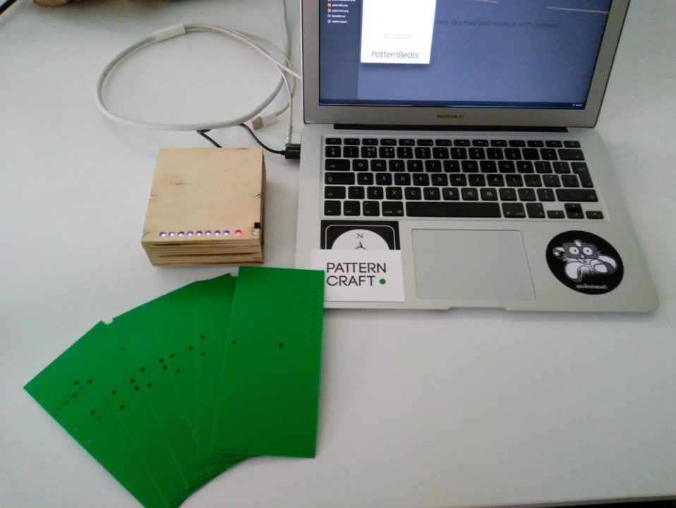 Image of PatternCraft Reader & Computer to make PatternBeats